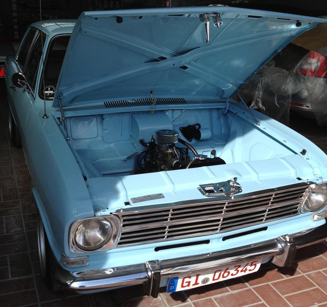 Restaurationen und Instandsetzung, Opel Kadett B 1969