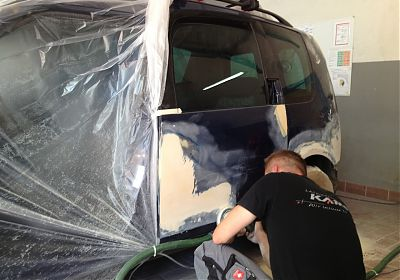 Reparatur nach Unfallschaden