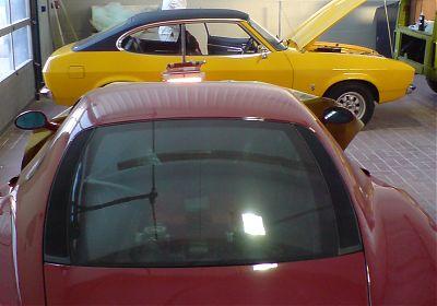 Ferrari & Ford Capri